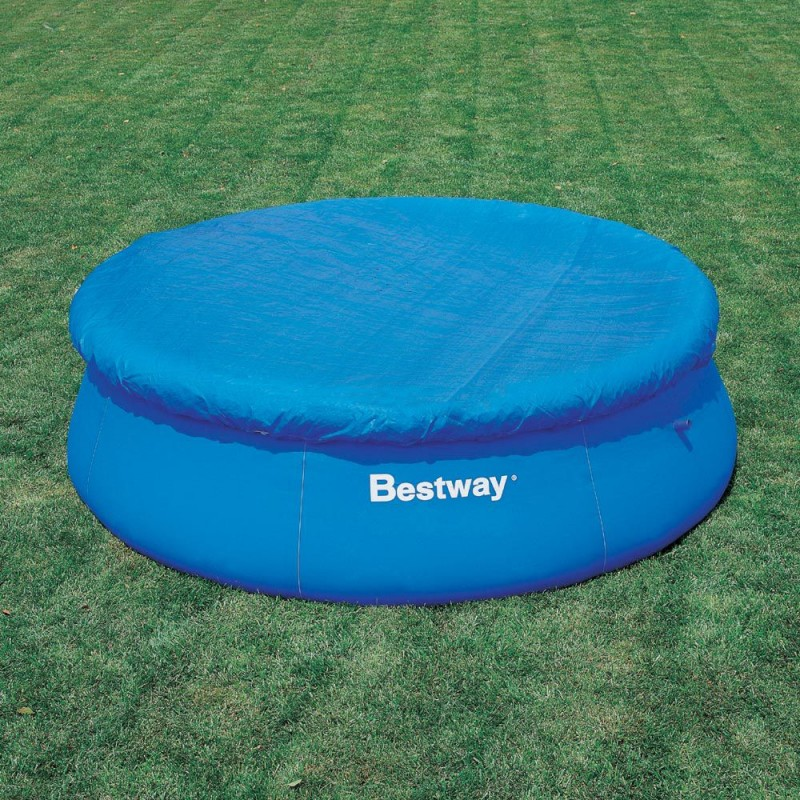 Telo copertura bestway per piscine rotonde 244cm san marco - Telo copertura piscina ...