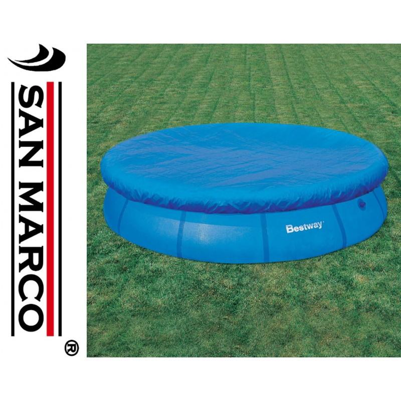 Telo copertura piscine rotonde bestway 366 cm san marco - Telo copertura piscina ...