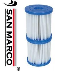 """Cartucce di ricambio Bestway per pompa filtro piscine tipo """"I"""""""
