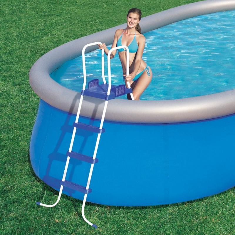 Scaletta bestway per piscine 122 cm san marco - Scaletta per piscina fuori terra ...