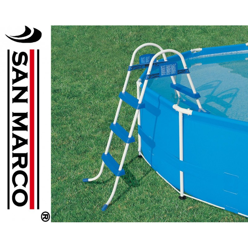 Scaletta per piscine fuori terra bestway 91 cm san marco for Piscine fuori terra best way