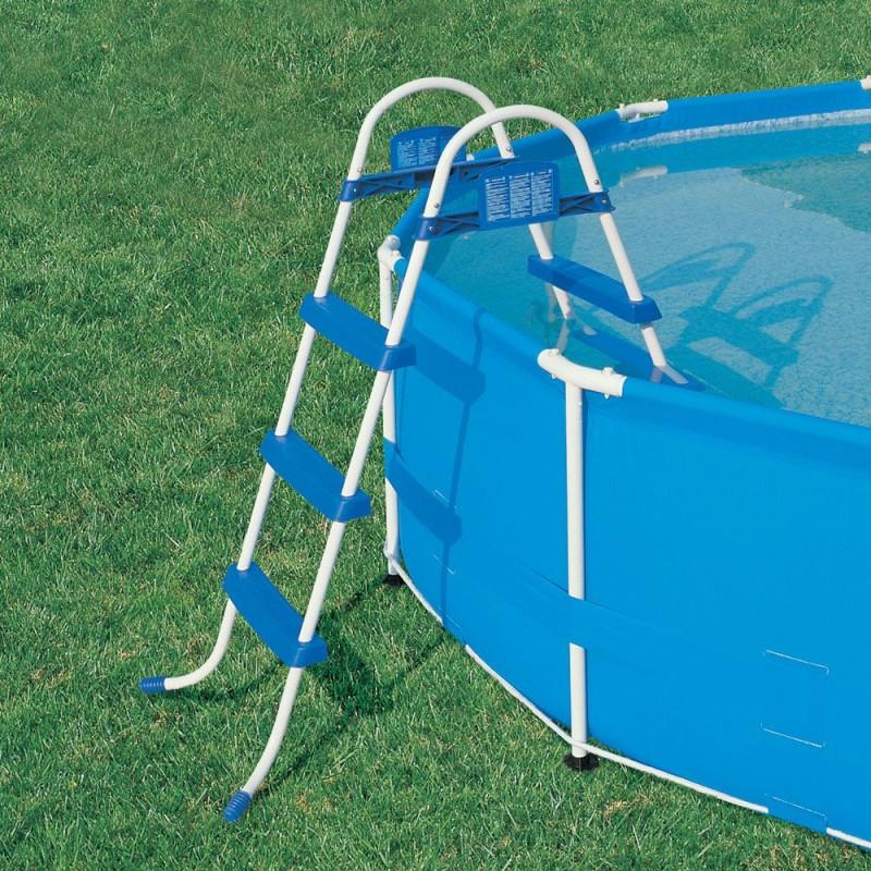 Scaletta per piscine fuori terra bestway 91 cm san marco - Scaletta per piscina fuori terra ...