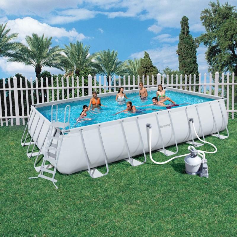 piscina fuori terra bestway frame 671x366x132 cm san marco