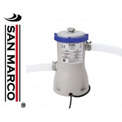 Pompa con filtro a cartuccia per piscine da 3028 L/H