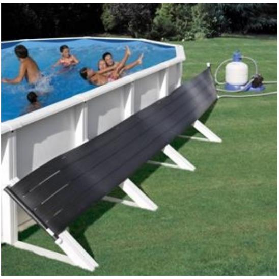 Riscaldatore a pannelli solari gre per piscine fuori terra - Pannelli solari per piscina ...