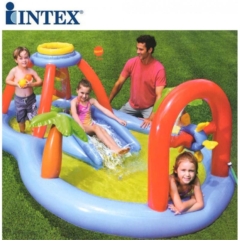 Gioco gonfiabile intex mulino a vento san marco for Gioco di piscine