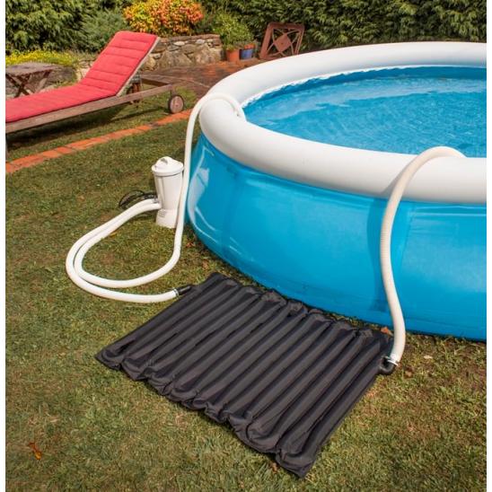 Riscaldatore a pannelli solari gre per piscine fuori terra for Accessori per piscine intex