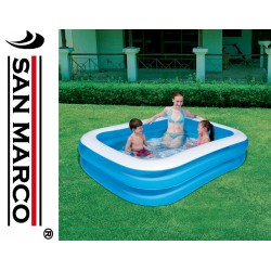 Piscina Bestway Blue rectangular 201x150x51 cm