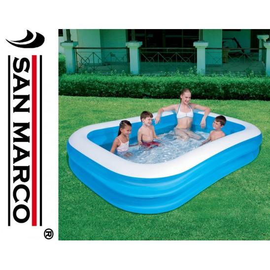 Piscina gonfiabile per bambini bestway deluxe san marco - Misure piscina bestway ...
