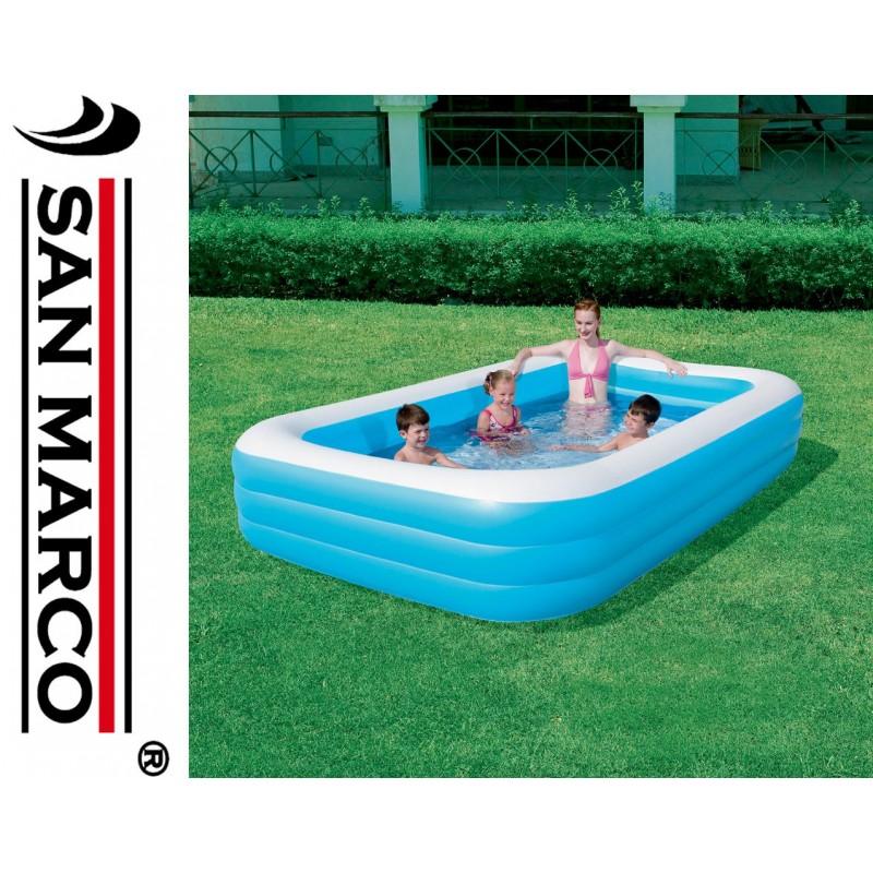 Piscina gonfiabile per bambini bestway deluxe san marco for Piscine fuori terra per bambini