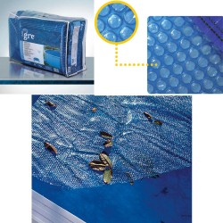 Copertura isotermica per piscine a forma di otto 710x475 cm