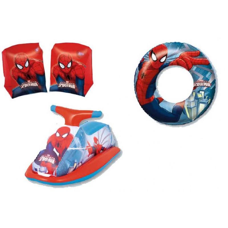 Tris giochi gonfiabili per bambini Spiderman  San Marco