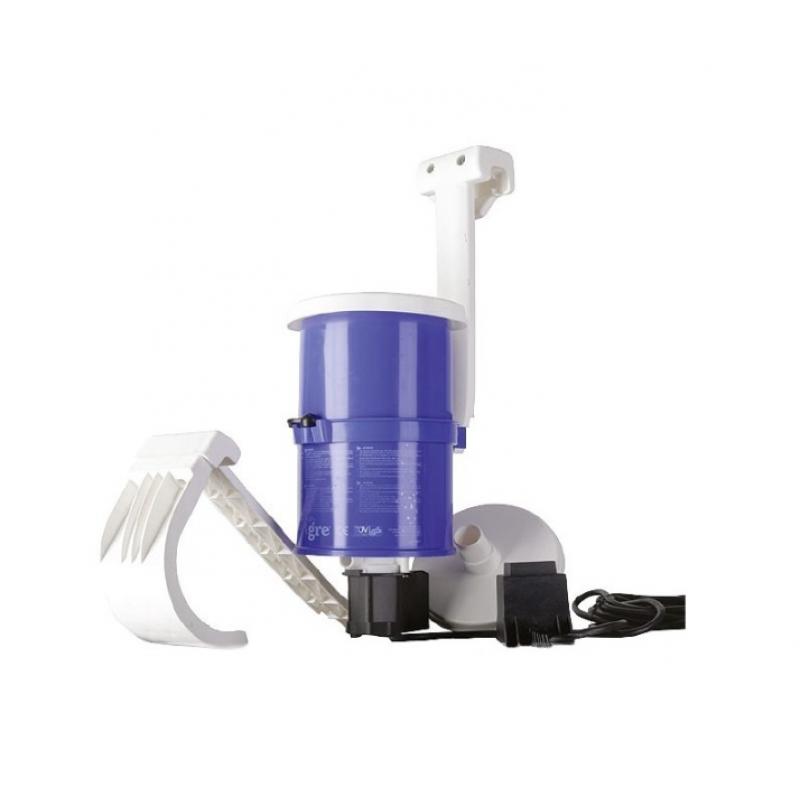 skimmer piscina motorizzato gre con filtro cartuccia san