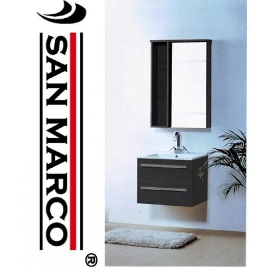 Mobile bagno moderno con lavabo 40x22x62 san marco - Semeraro arredo bagno ...