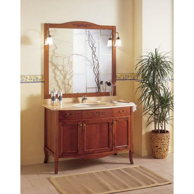 Mobile bagno in legno artigianale epoque san marco - Mobili bagno retro ...