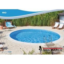 Piscina fuori terra e interrabile Zodiac Rio 600x120 cm
