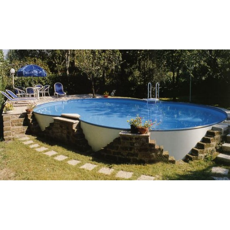 Piscina fuori terra e interrabile zodiac riva 725x460x120 for Teli per piscine interrate