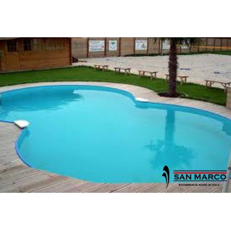 Piscina fuori terra zodiac riva 725x460x150 cm san marco for Zodiac piscinas