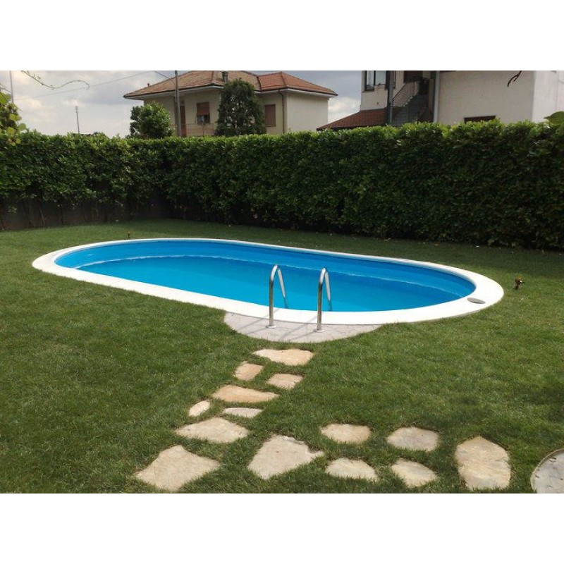 Piscina interrata zodiac rilax 800x400x150 cm san marco for Teli per piscine interrate