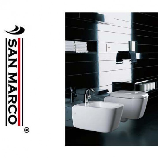 Sanitari bagno sospesi pozzi ginori serie q3 san marco - Arredo bagno pozzi ginori ...