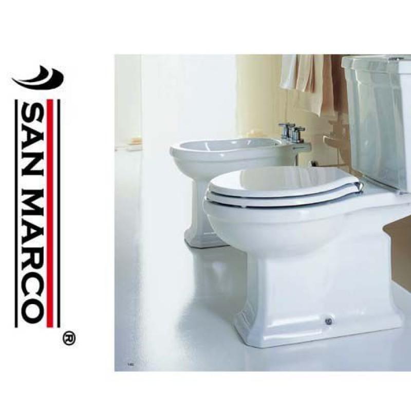 Sanitari bagno da appoggio Pozzi Ginori serie Montebianco | San Marco