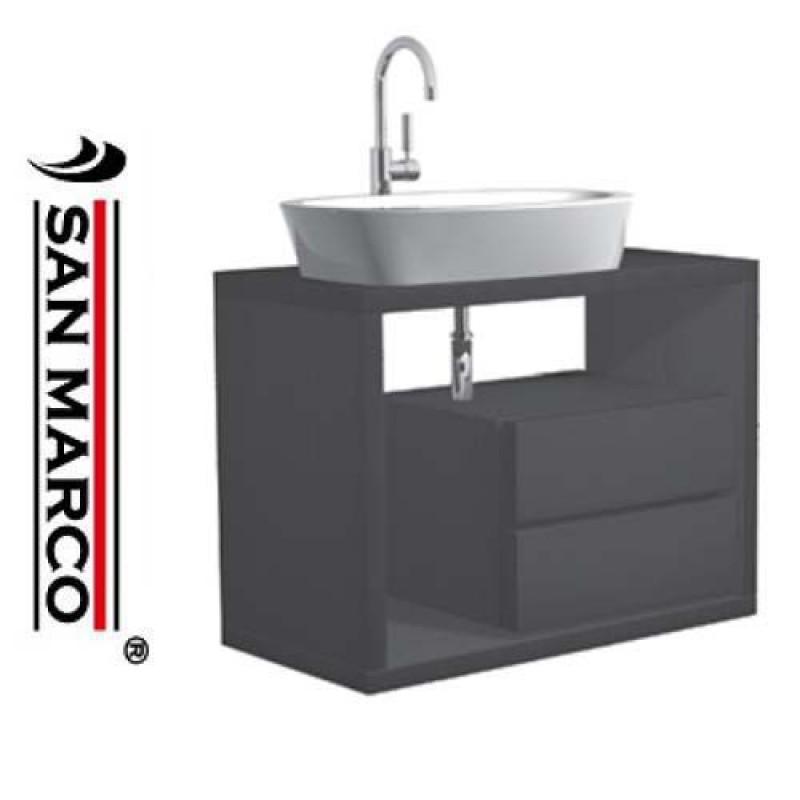 Mobile bagno lavabo Pozzi Ginori Q3 90 cm | San Marco