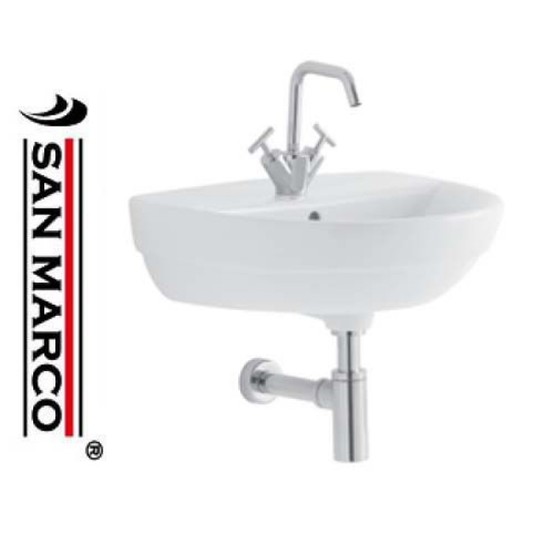 lavabo bagno pozzi ginori selnova 3 50 cm san marco. Black Bedroom Furniture Sets. Home Design Ideas