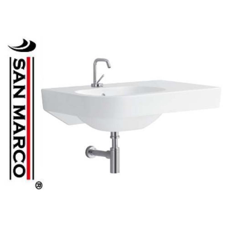 Lavabo bagno pozzi ginori quinta 80 cm dx san marco for Arredo bagno pozzi ginori