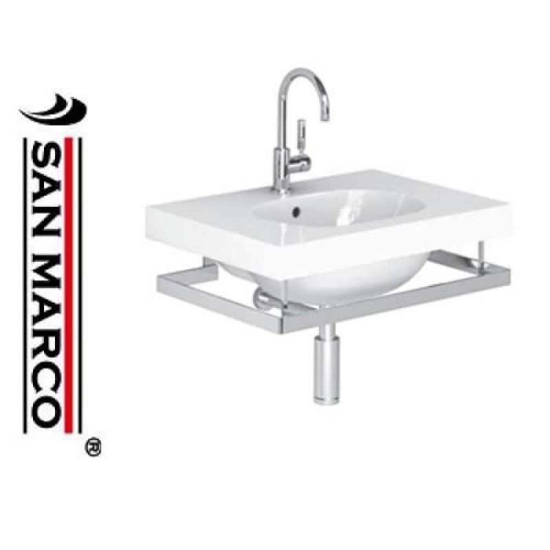 Lavabo bagno pozzi ginori 500 con portasciugamani 70 cm for Arredo bagno pozzi ginori
