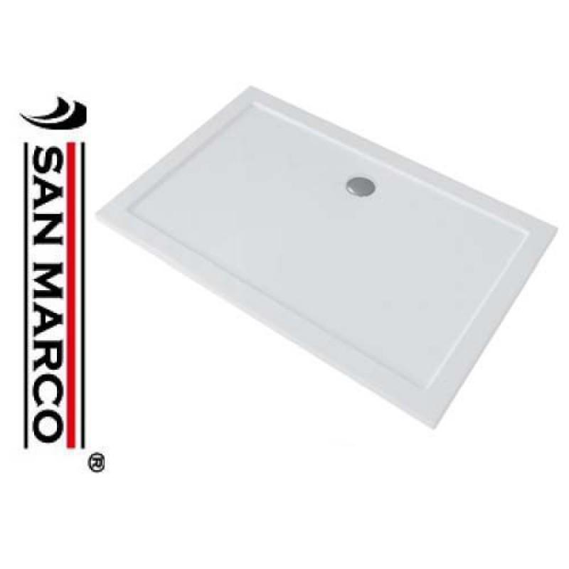 Piatto doccia rettangolare pozzi ginori ground 90x180 cm - Dimensioni piatto doccia rettangolare ...