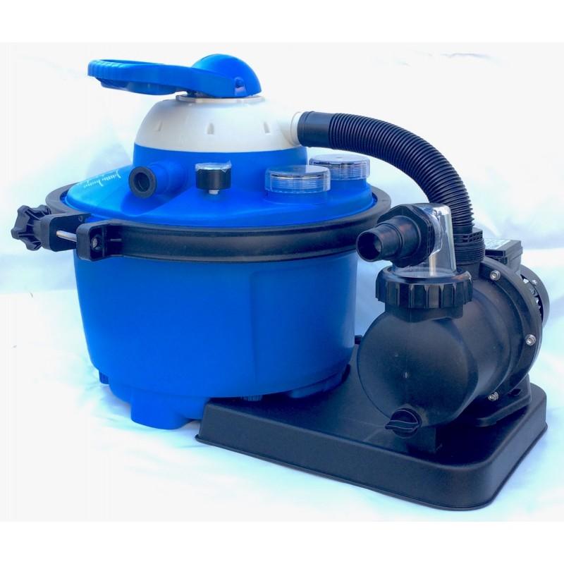 Filtro a sabbia per piscina da 6 6 m3 san marco for Pompa per piscina