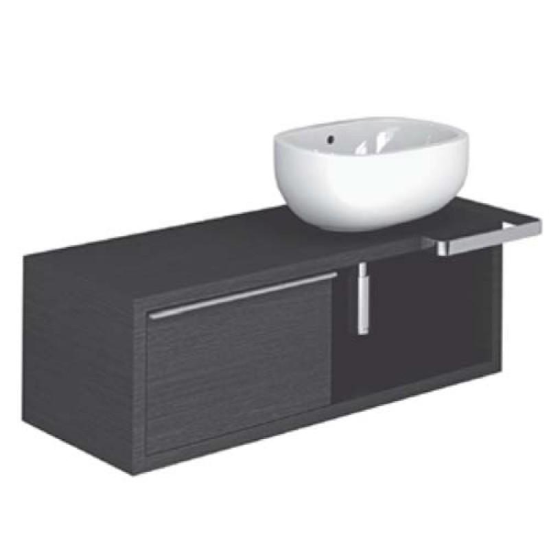 Mobile bagno con lavabo Pozzi Ginori Easy 02 120 sx | San Marco