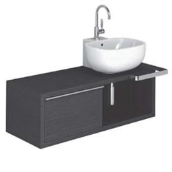 Mobile bagno con lavabo Pozzi Ginori 500 120 sx