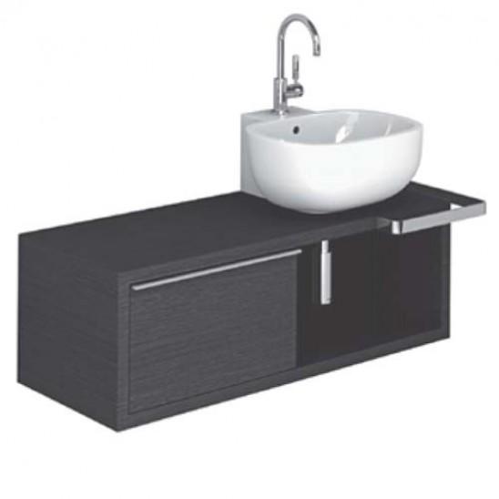 Lavabo da appoggio pozzi ginori 500 52 cm con piano for Offerte mobile bagno con lavabo