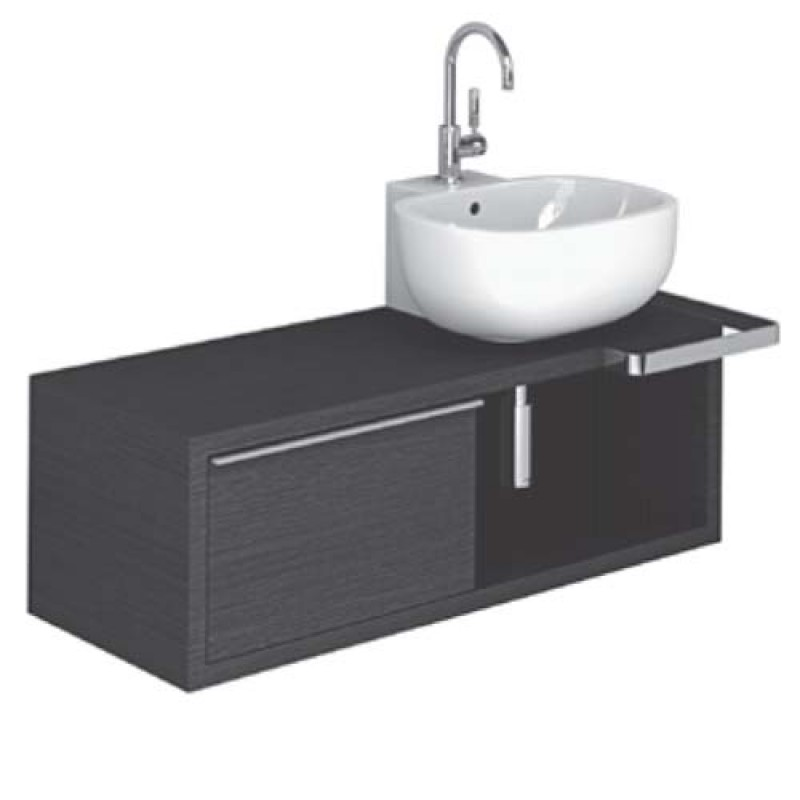Mobile bagno con lavabo Pozzi Ginori 500 120 sx | San Marco