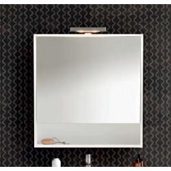 Specchio bagno contenitore Pozzi Ginori 80 bianco lucido