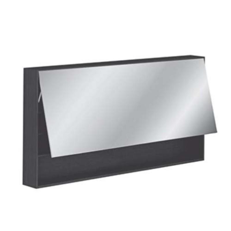 Specchio bagno contenitore Pozzi Ginori 120 teak | San Marco