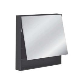 Specchio bagno contenitore Pozzi Ginori 80 wengè