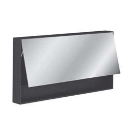 Specchio bagno contenitore Pozzi Ginori 120 wengè