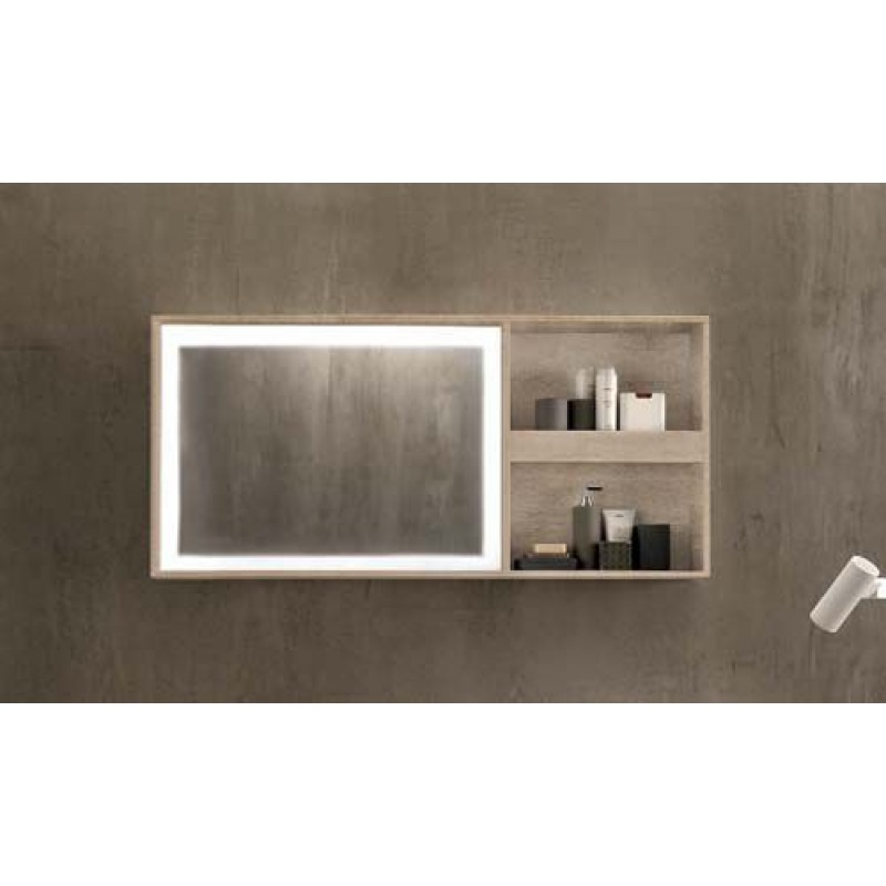 Specchio bagno pozzi ginori 60x135 cm citterio sabbia - Arredo bagno pozzi ginori ...