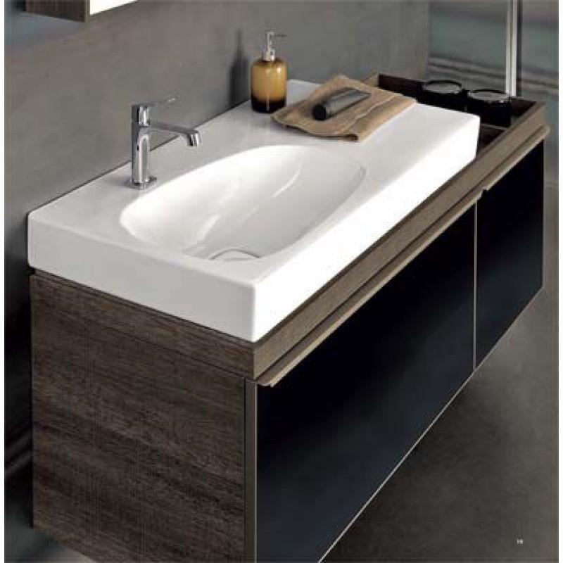 Mobile lavabo pozzi ginori citterio 51x56x134 cm sabbia sx for Arredo bagno con lavabo da appoggio