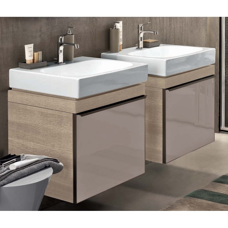 Mobile lavabo pozzi ginori citterio 59x51x56 cm sabbia for Lavabo bagno mobile