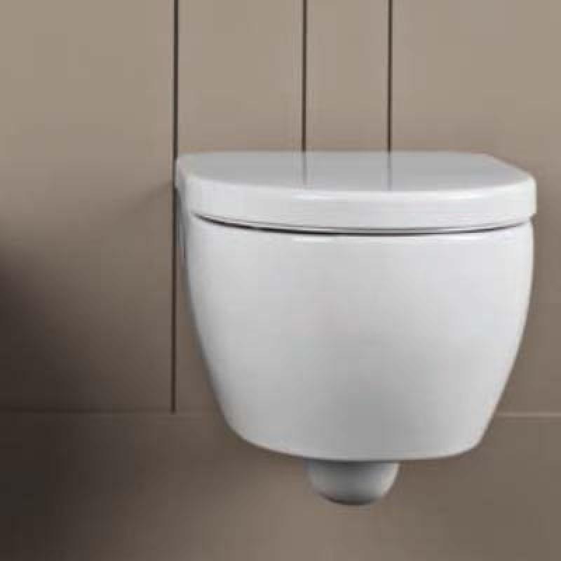 Wc sospeso pozzi ginori fast rimfree con sedile san marco - Vasche da bagno pozzi ginori ...