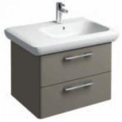 Mobili con lavabo incluso per il bagno san marco - Mobile bagno asimmetrico ...