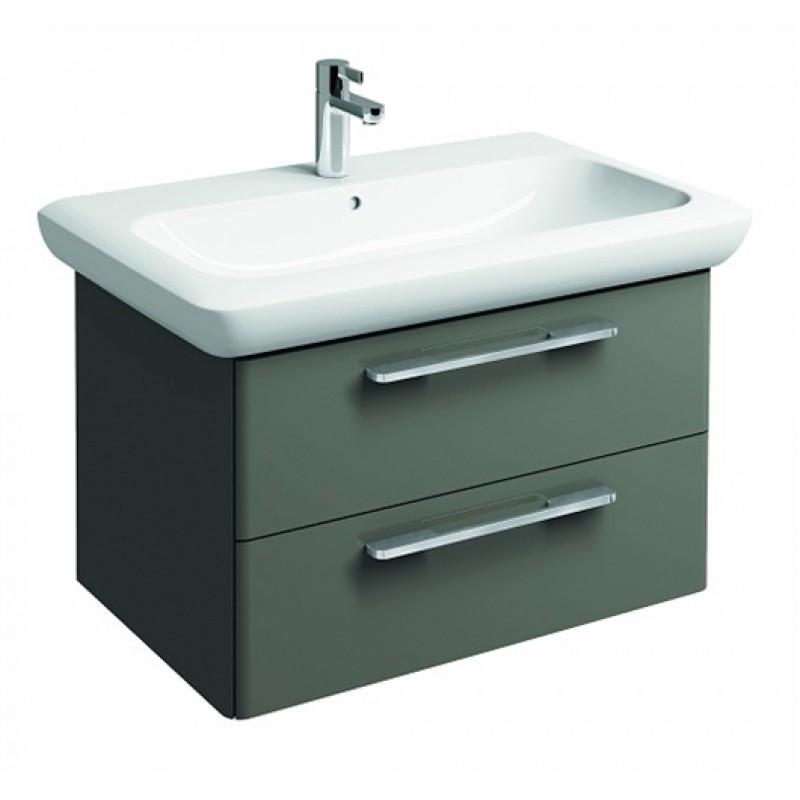 Mobile bagno lavabo Pozzi Ginori 40x70 cm bianco