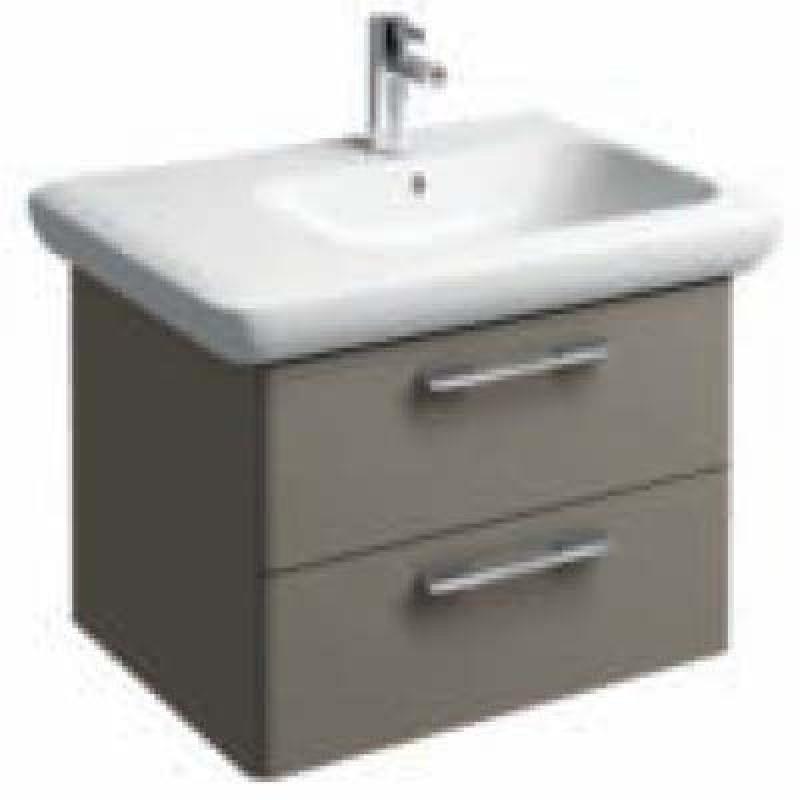 Mobile bagno lavabo Pozzi Ginori Fast 40x60 cm grigio | San Marco