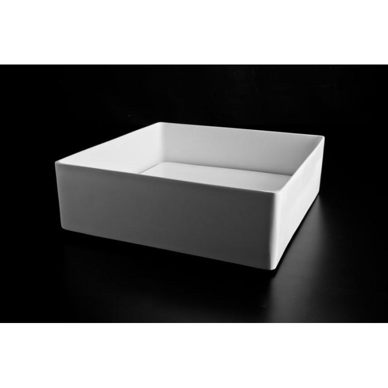 lavabo da appoggio trabocchetto resina