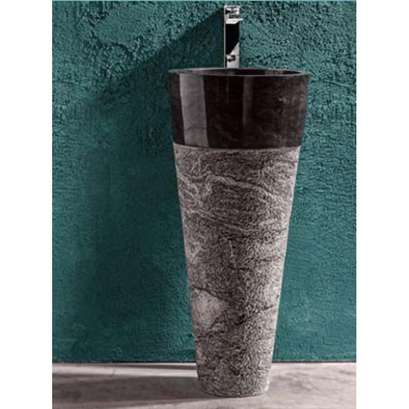 Lavabo bagno cipi stand up nero san marco - Lavabo nero bagno ...