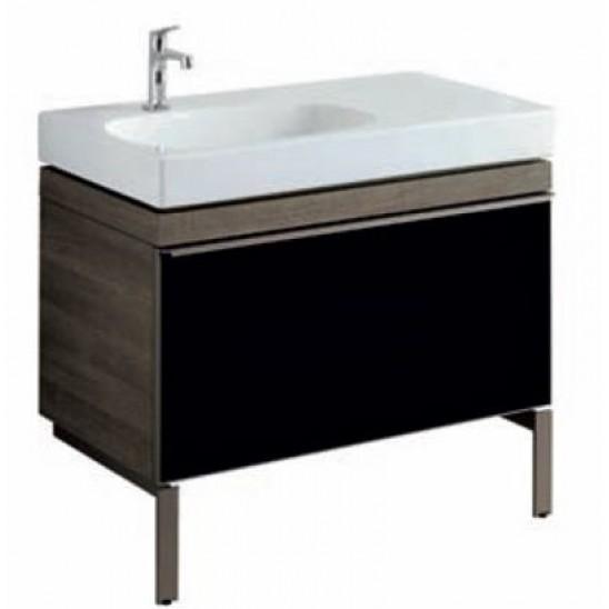 Mobile lavabo asimmetrico pozzi ginori citterio 90 sabbia - Mobile bagno asimmetrico ...