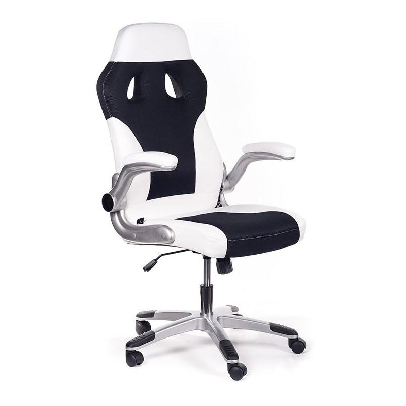 Poltrona ufficio ergonomica bernabeu bianca san marco for Poltrona ufficio juventus